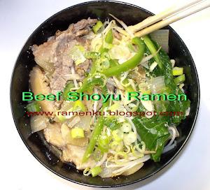 Beef Shoyu Ramen