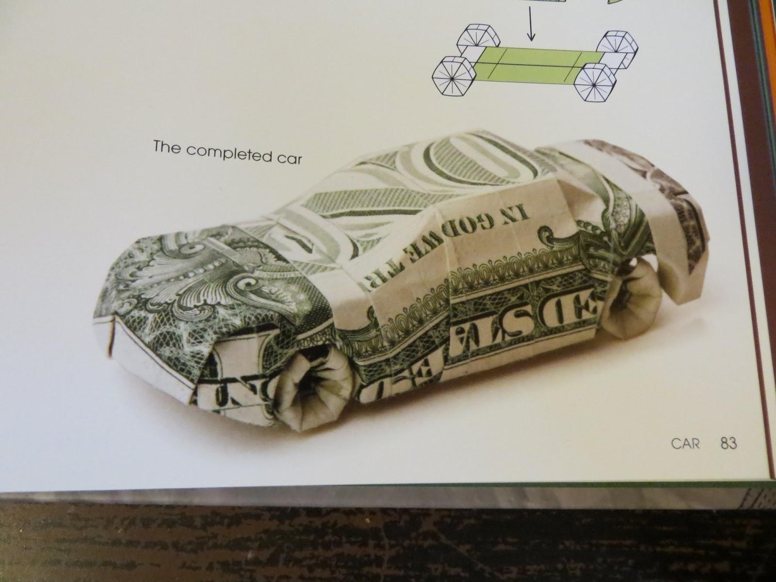 Ac E Xpression Money Origami Car