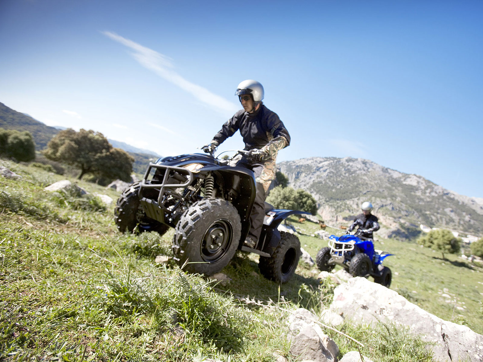 2009 yamaha wolverine 450 atv wallpapers specifications