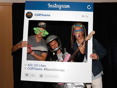 Chip Ganassi Racing drivers Sage Karam, Kyle Larson and Dylan Kwasniewski  Ganassi Sound Garage #soundgarage