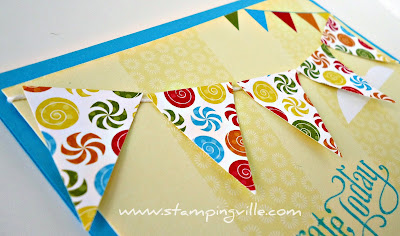 Big Top Birthday Designer Series Paper by Stampin' Up!