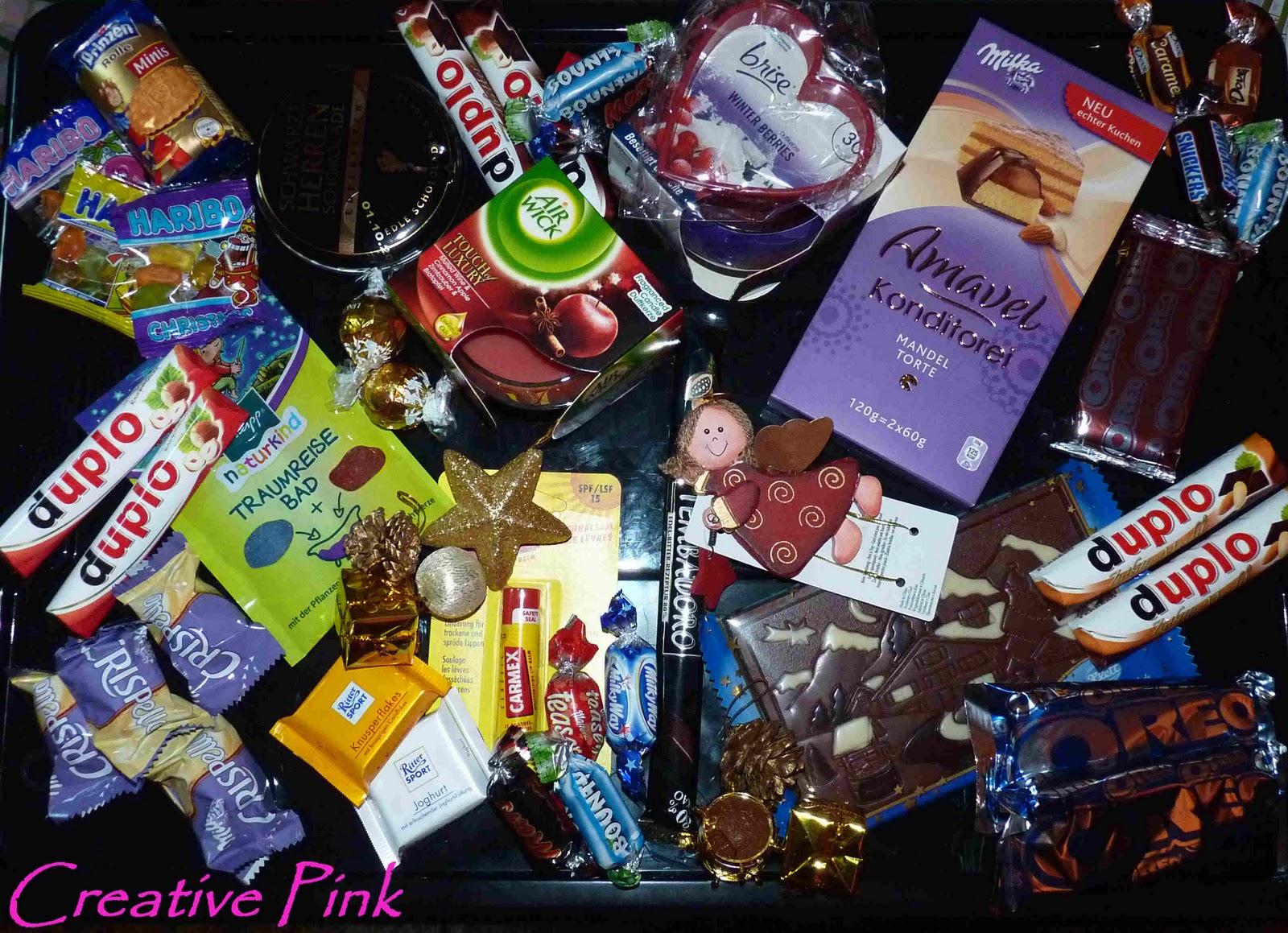Showroom by creative pink selbstgemachter adventskalender diy - Adventskalender selber machen ideen freund ...