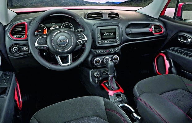 Jeep Renegade 2015 interior