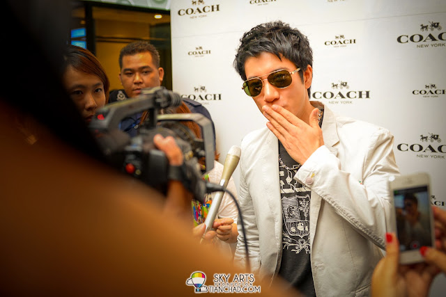 LeeHom 王力宏 @ Coach Malaysia Gardens Reopening Event