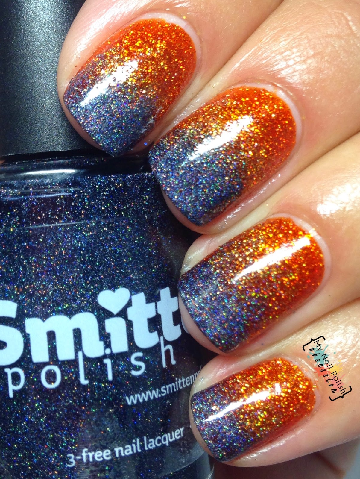 Smitten Polish Fire Burn & Cauldron Bubble