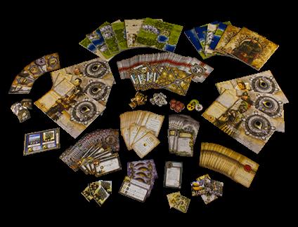 Componentes de Civilization juego de mesa