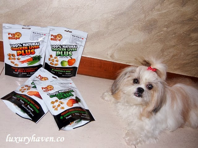 vitacost pet-n-shape natural dog treats