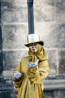 Mimi in centrul Dresdei