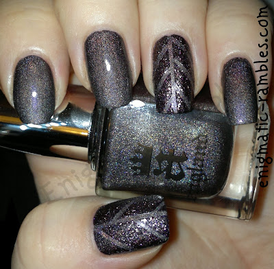 striping-tape-textured-polish-nails-nail-art-a-england-ascalon-sleeping-palace-barry-m-countess