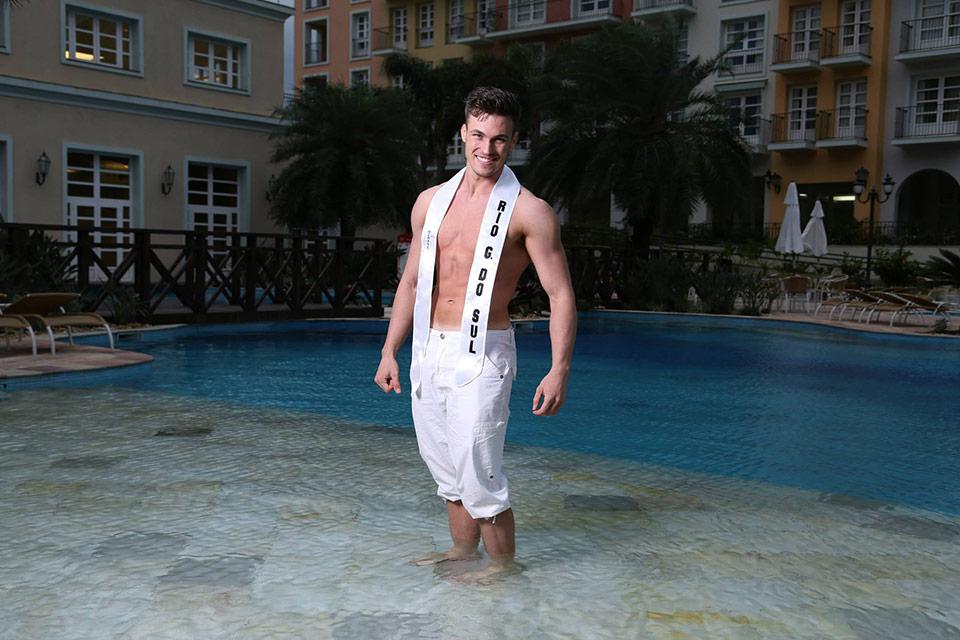 Mister Rio Grande do Sul - Diego Heldt, 25 anos, 1,85 m - Foto: Leonardo Rodrigues