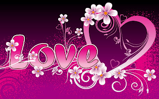 beautiful pink love art