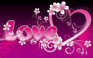 beautiful pink love art