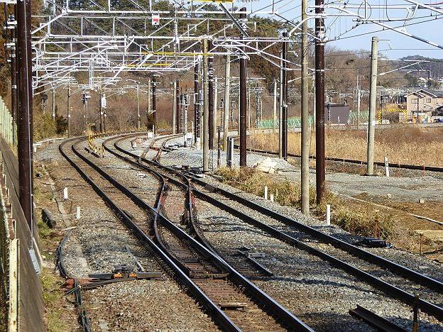 仙石東北ラインの接続地点