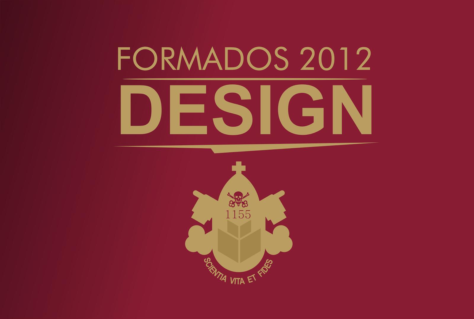 FORMADOS DESIGN 2012
