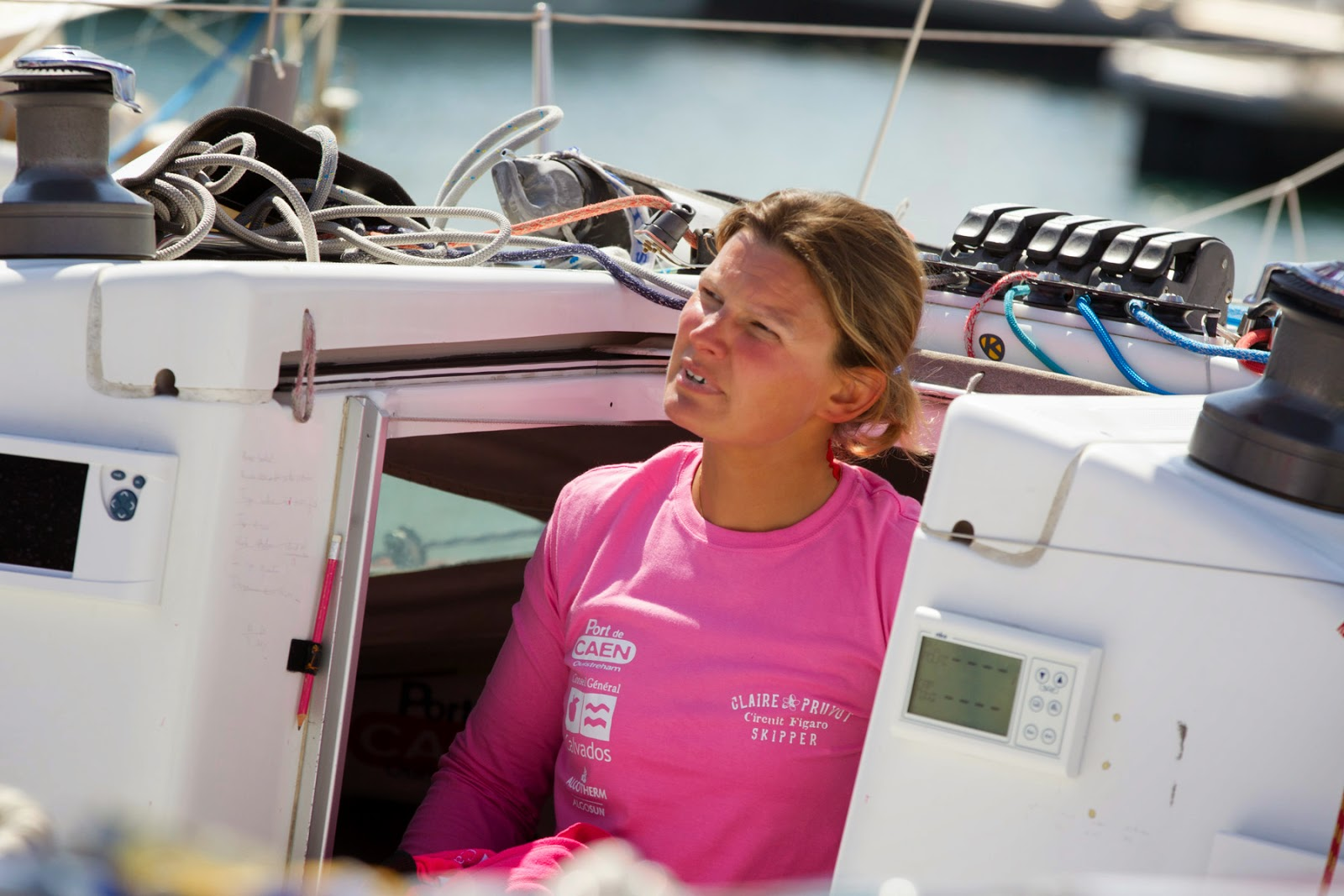 Claire Pruvot reprend doucement la mer.