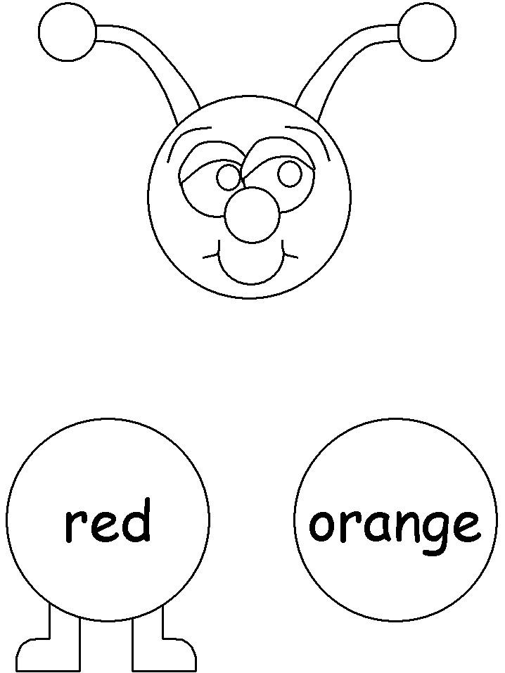 Excepcional ESPAÇO EDUCAR: Centopéia cores em inglês! Cartaz de parede  MW61