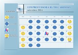 Calendário Escolar Setembro 2014
