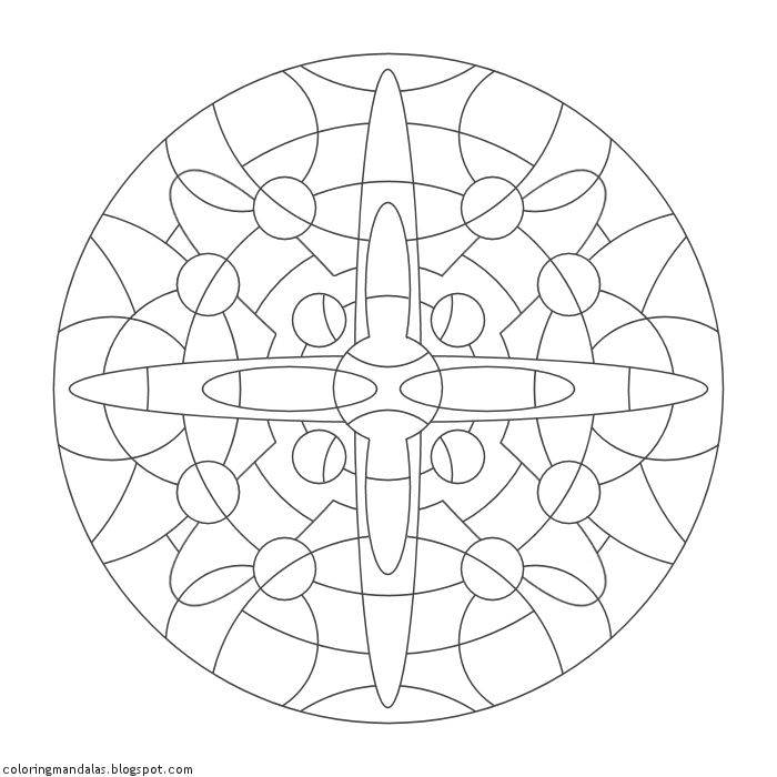 Coloring Mandalas 36 Intuition