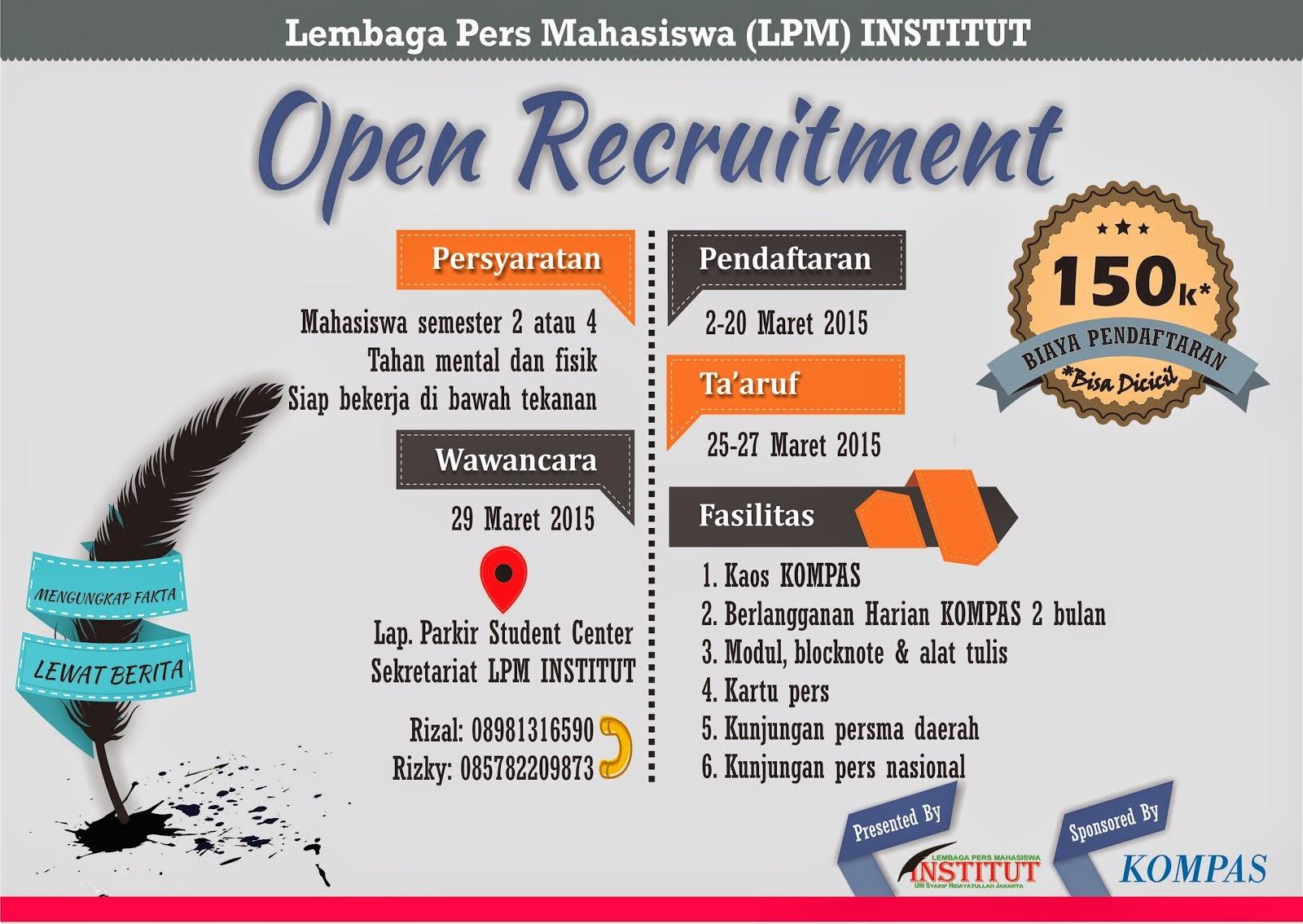 Open Recruitment