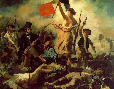 Eugene Delacroix revolución francesa liberty Caixaforum