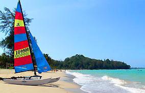 Meridien Khao Lak Beach plus sailer