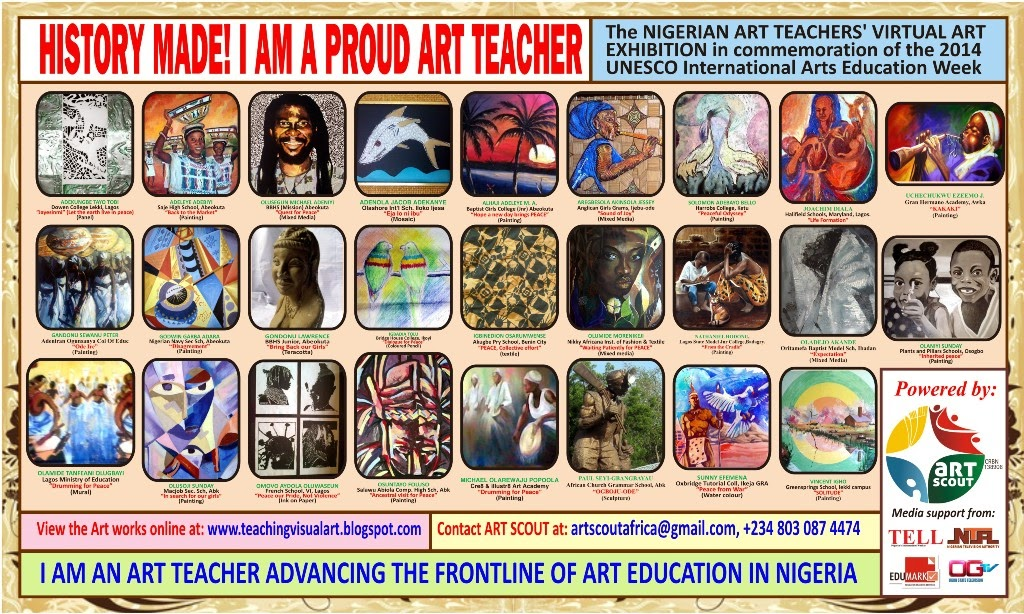 SPECIAL STICKER FOR THE PROUD ART TEACHERS