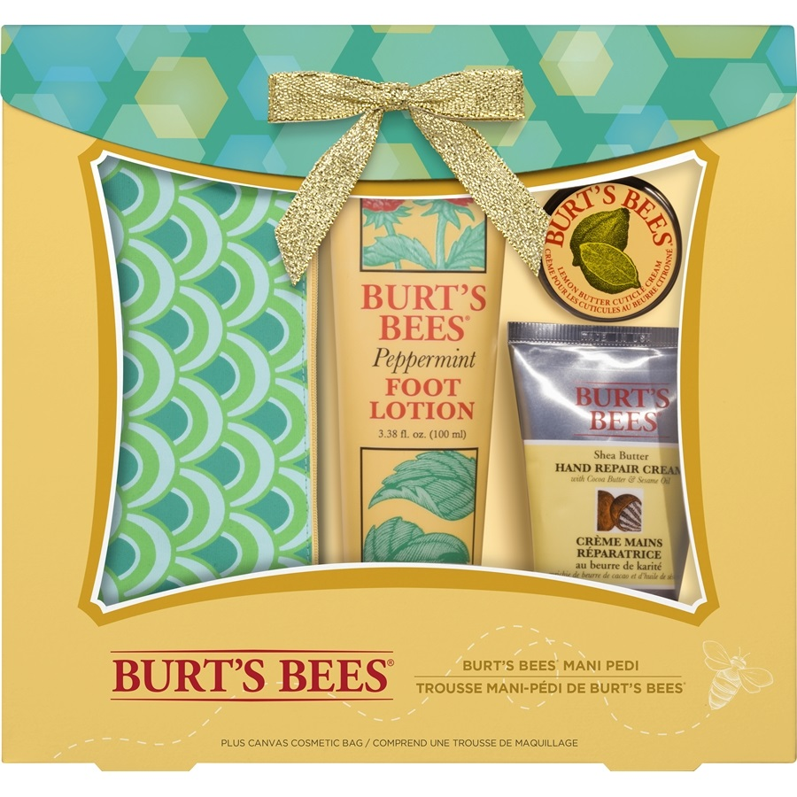 Burt's Bees Mani Pedi holiday collection