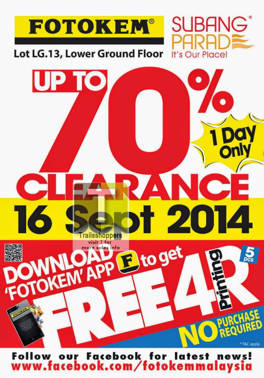 Fotokem Malaysia Clearance Sale