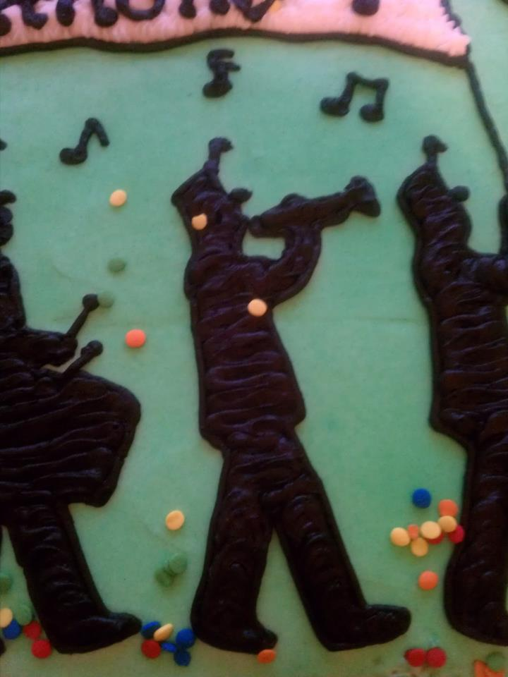 Introducing Marching Band Cake For A Birthday