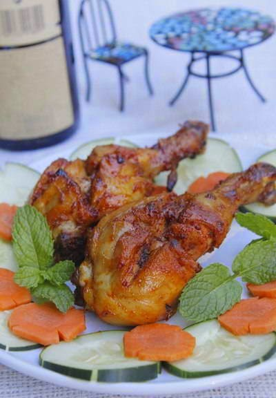 Grilled Spicy Chicken Thighs - Đùi Gà Nướng Cay