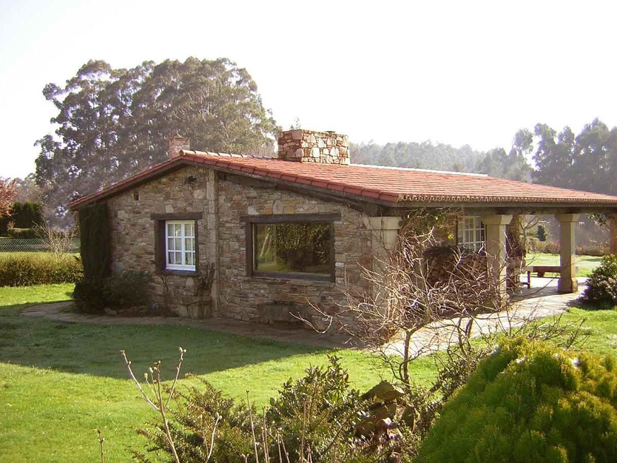 Construcciones r sticas gallegas casa n 14 for Casa moderna ladrillo