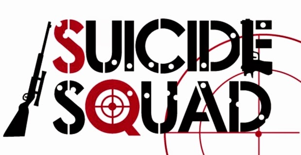 Logo for the new DC WB movie Suicide Squad in 2016