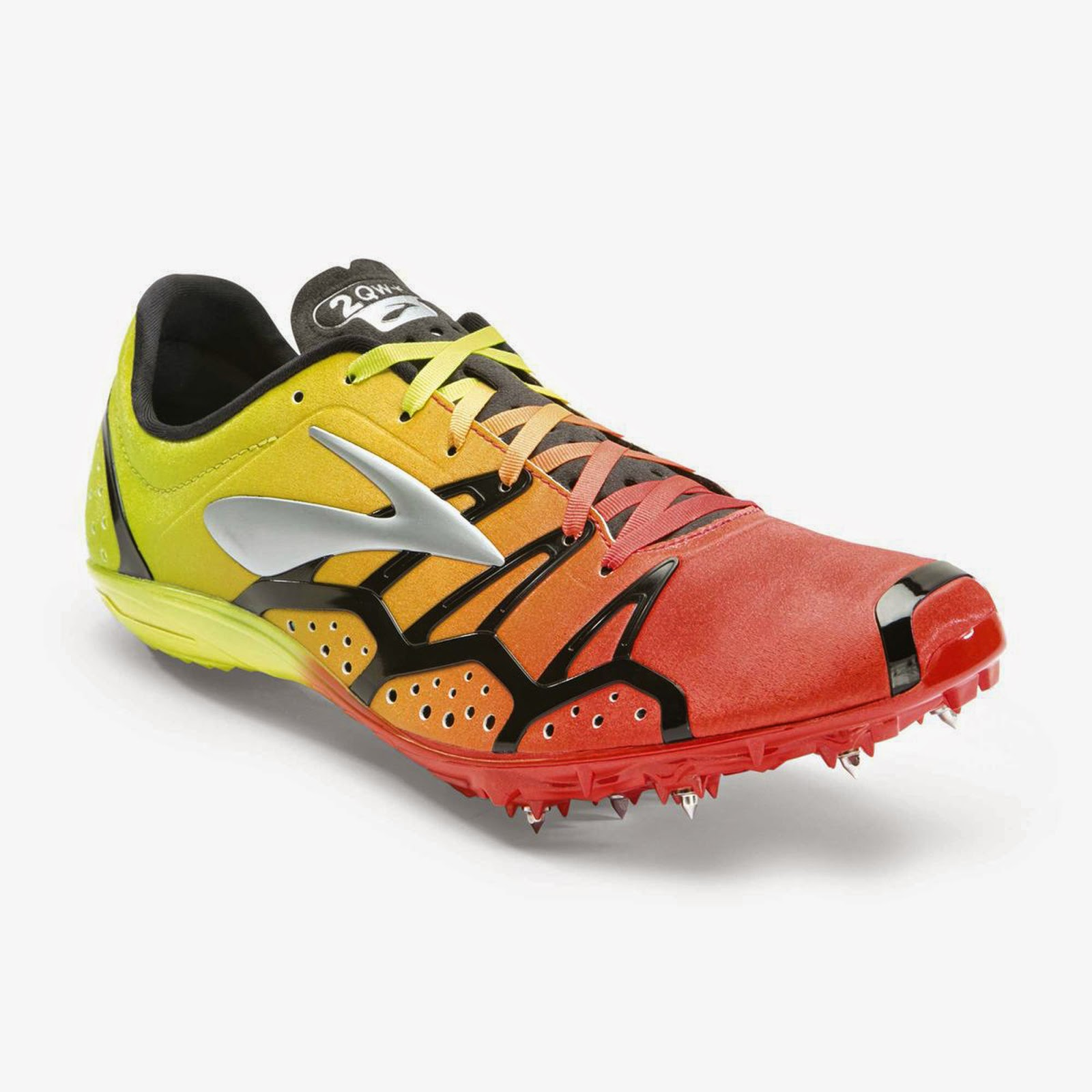 Brooks ELMN8 3 Running Spikes Middle Distance Track Racing Shoes Unisex Adults