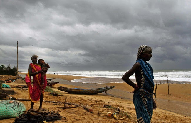 effects of Indian hudhud cyclone