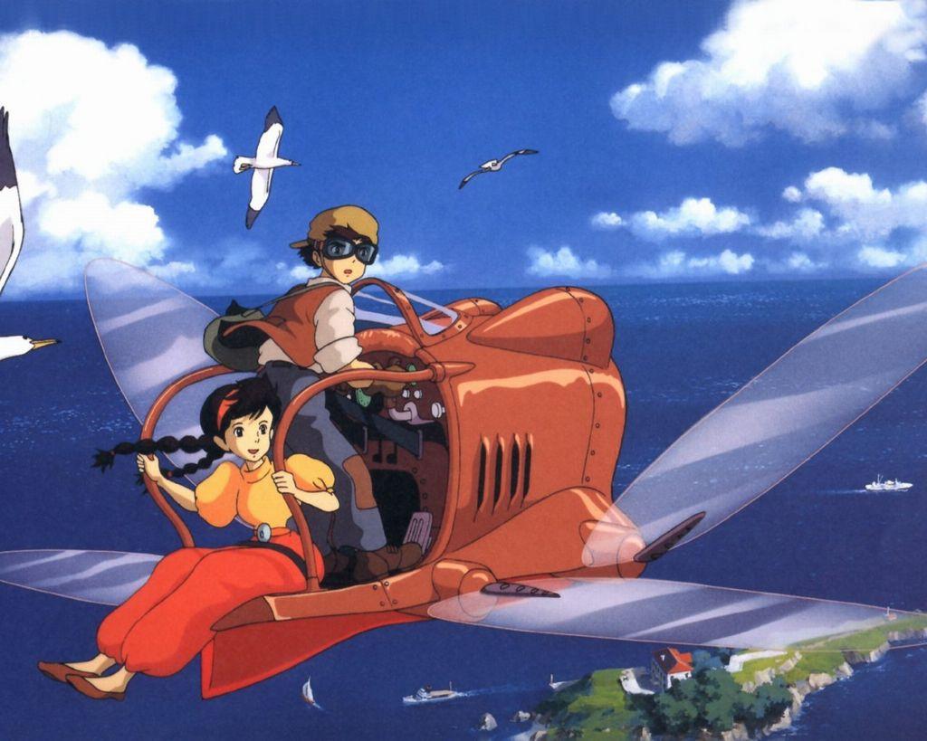 Laputa - Castle in the sky - Studio Ghibli movie Minecraft Map