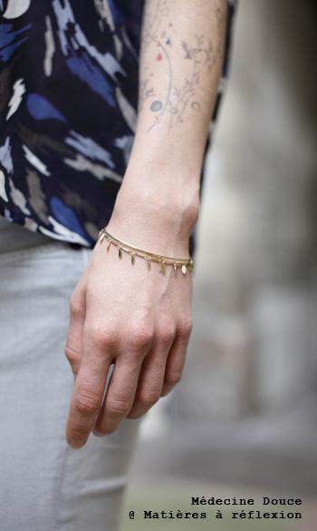 Bracelet Pampille Médecine douce