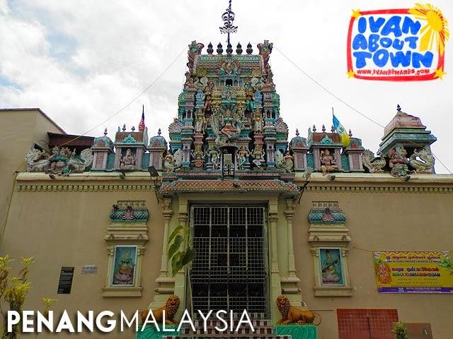 Mahamariamman Temple, Penang, Malaysia