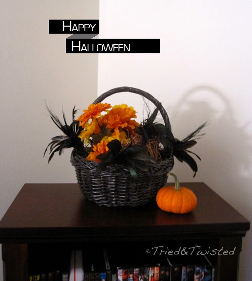 Raven Feather Halloween Mantel Decoration | Tried and Twisted