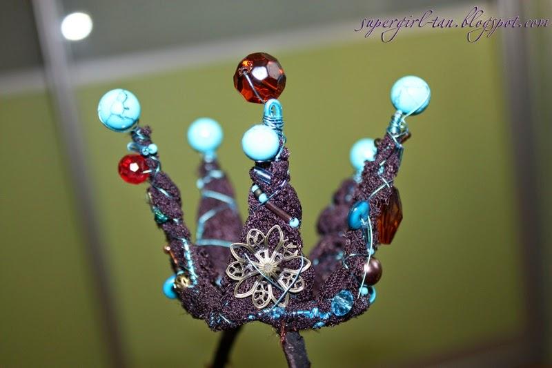 корона из проволоки