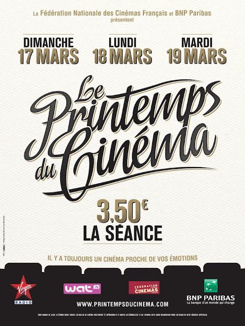 3,50€ la séance de cinéma !