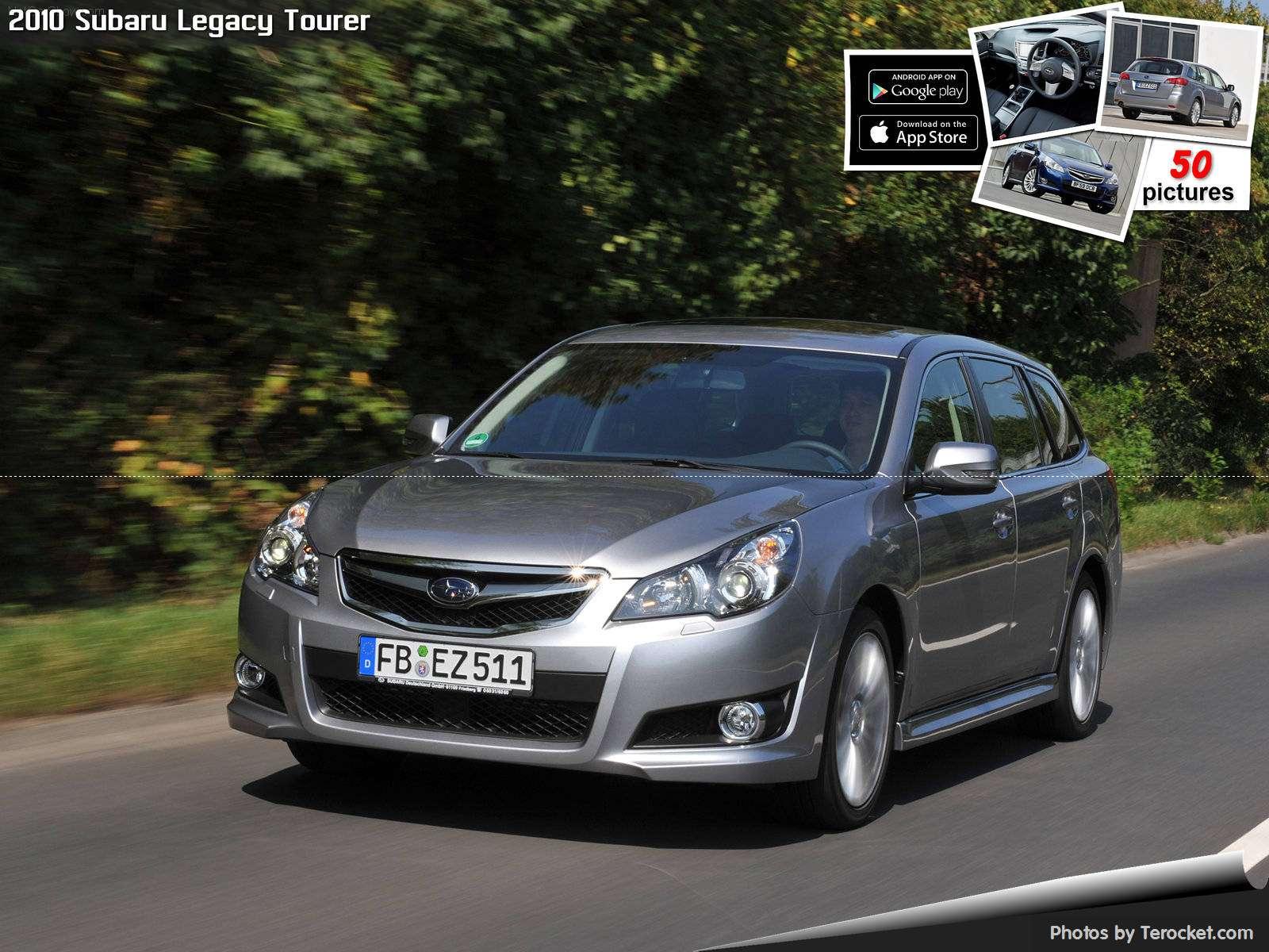 Hình ảnh xe ô tô Subaru Legacy Tourer 2010 & nội ngoại thất