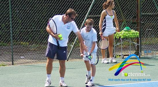 Khóa học tennis dành cho trẻ em (Mini Tennis)