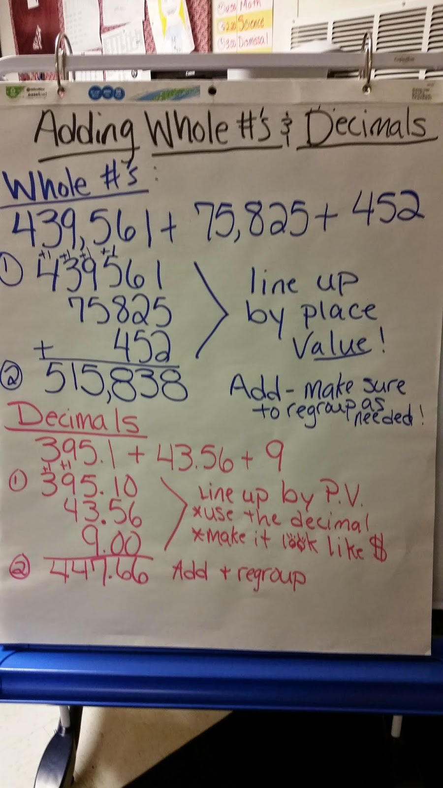 Worksheet Adding Whole Numbers And Decimals parent student information adding whole numbers decimals decimals