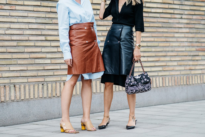 Стритстайл, fashion street style,  с чем носить платье-рубашку