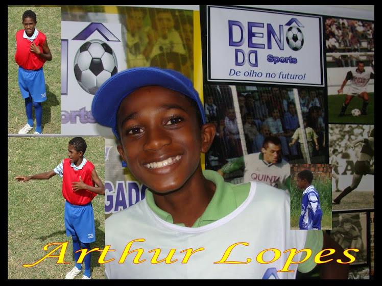 Arthur Lopes (Clik na foto e veja o vídeo).
