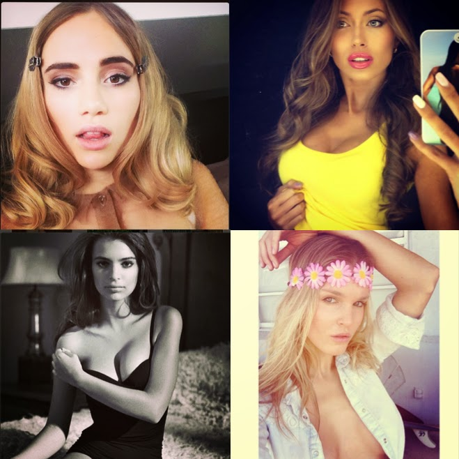 instagram accounts models narcissistic