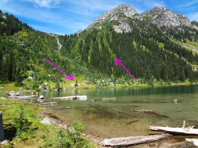 Hiking Shadowfax, Tolkien Group, BC
