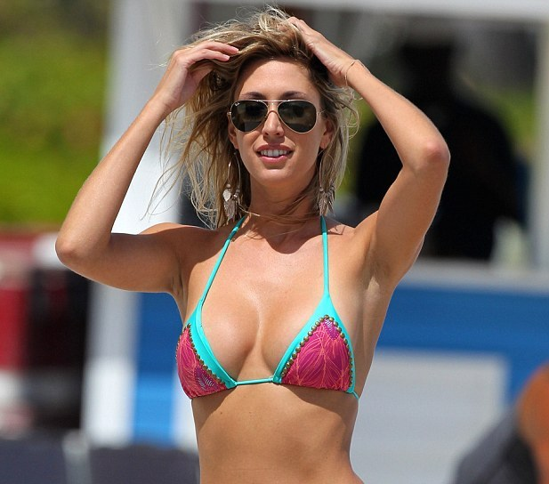 Lauren Stoner donned a very tiny bikini, showed off most ...