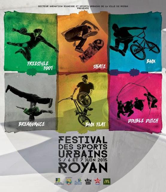 Festival des Sports Urbains 2015 à Royan