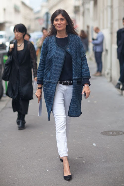 Style begins at Forty: EMMANUELLE ALT